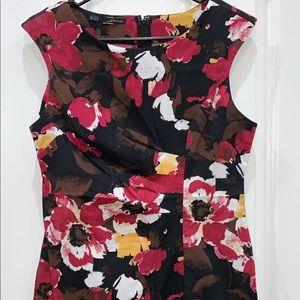 Floral Dress- Work Wear